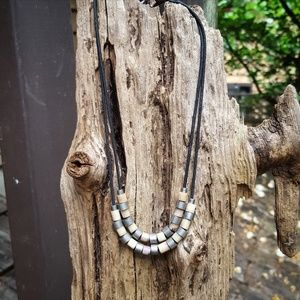 Two-Layered Earth Tones Necklace